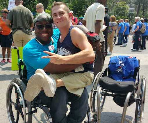 Gay men with disabilities