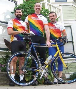 Lesbian cycling clubs